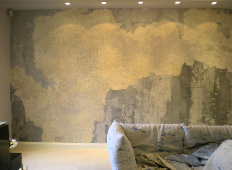 Faux Finish for a private client, Paris - Decorative Painters Paris, France - Maison Scene